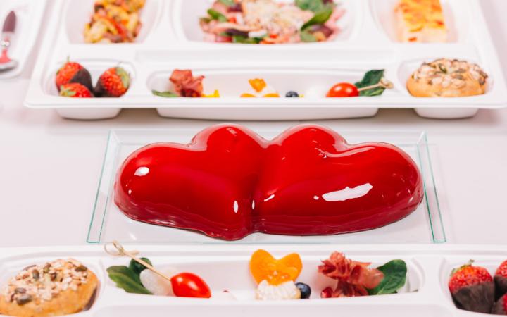 Valentine's dinner box